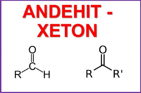 Andehit – Xeton
